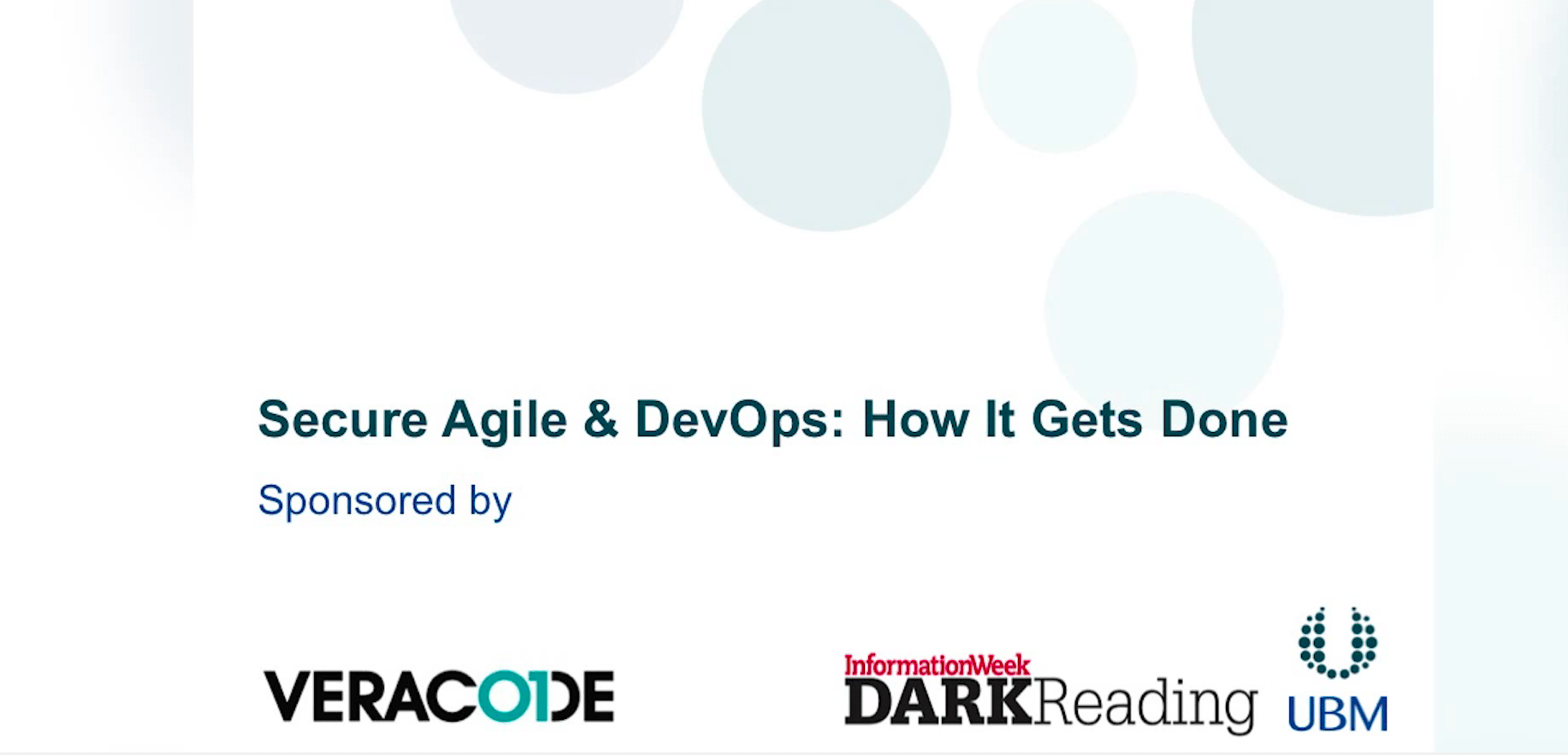 Veracode discusses security in agile devops