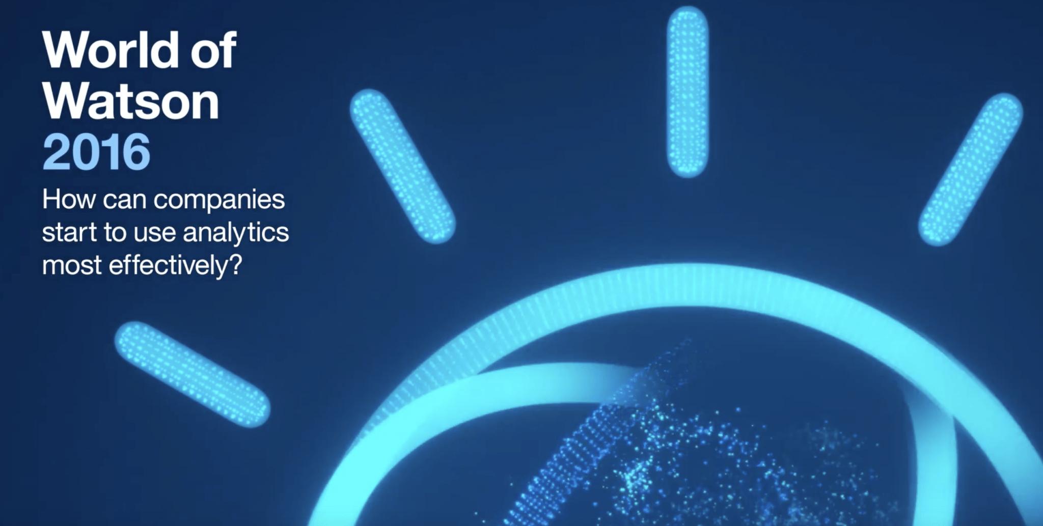 IBM Watson big data